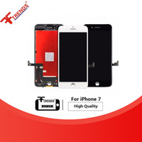 Wholesale Sreen For Iphone - Grade AAA+++ Quality LCD No Spots For iPhone 7 7G Sreen Touch Digitizer Assembly Free Shipping
