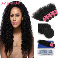 Cabelo Virgem Peruano 4 Pacotes Kinky Curly Weave Pacotes de Cabelo Humano Wet and Wavy Peruvian Kinky Curly Virgem Cabelo