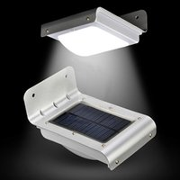 Wholesale 16 LED Solar Power Motion Sensor Garden Security Lamp Outdoor Waterproof Light By Fast DHL