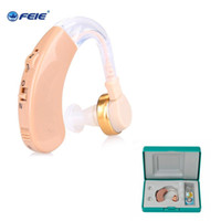 Wholesale Hearing Aids Prices - Whole price Machine Medico Supplies S-139 Volume Control Hearing Aids In-ear Portable Ear Device With Cleaning Brush