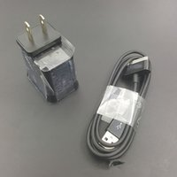 Wholesale Galaxy Tab Eu Charger - for p1000 tablet PC chargers 5V 2A US EU UK plug cable 2 in 1 charger galaxy tab travel adapter charging for galaxy tab p1000 p7500 p7300
