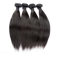 Straight packet machine - Brazilian Hair Weaves A Unprocessed Hair Bundles Human Hair Weave E packet Body Wave Or Straight Extensions