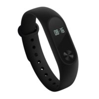 Wholesale Global Displays - Global Version Xiaomi Mi Band 2 miband 2 Smartband OLED display touchpad heart rate monitor Bluetooth 4.0 fitness tracker
