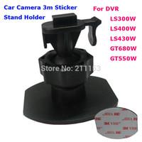 Wholesale Vhb Adhesive - Wholesale-New 3m Adhesive Single Buckle Mount for LS300W LS430W LS430 LS330W GT300W GT550W Car DVR 3M VHB Sticker Stand Bracket Holder