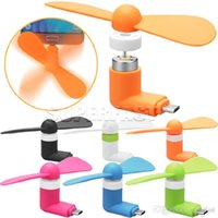 Wholesale Chinese Electronics Phones - Micro USB Mini Fans V8 Fans For Android Mobile Phones Samsung iPhone 6 Portable Summer Outside Electronic Cooling Wind With OPP Package