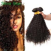 bakire kıvırcık afro örgü toptan satış-8A Brezilyalı Kinky Kıvırcık Saç Demetleri Vizon Brezilya Afro Kinky Kıvırcık İnsan Saç Uzantıları Brezilyalı Kıvırcık Bakire Saç B ...