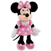 baby mickey mouse stuffed animal achat en gros de-Original Minnie Mouse Peluche Peluche Peluche rose 48Cm 19''Cute Mickey Girlfriend Baby Girls Jouets pour enfants Cadeaux pour enfants