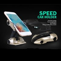 Wholesale Huawei New Models - New 360 Degree Car Model Car Phone Holder Stand Universal Adjustable Phone Desktop Holder For iphone Samsung HTC Huawei With Retail Box