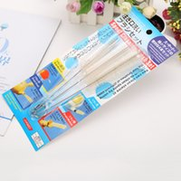 Wholesale Toilet Brush Set Wholesale - Pot Mouth Brush Sets Food Bottle Teapot Cup Scrub Stainless Steel Tank Cleaning Brushes Bristle Hose Tube Pipe Set 3 4bm F R