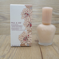 Wholesale Refresh Liquid - Brand enamel paul&joe pj refreshing Faced foundation liquid Luminous Primer 30ml30ML