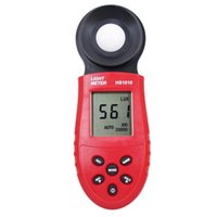 Wholesale Lux Tester - Wholesale- 30pcs lot Pocket Light Meter Lux FC Measure Tester 200,000 Lux Digital LCD backlight