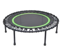 Wholesale Spring free small trampoline jumping bed fitness safty rebounder inch