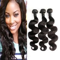 Wholesale Body Wave Brazilian Hair Bundles Malaysian Indian Peruvian Remy Hair Weave Natural Color Human Hair Extensions