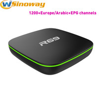 Arabic TV Box R69 Android4.1 Gratuit Obtenir l'Europe IPTV Canaux indiens tels que l'italien Allemagne anglais Canada France Pays-Bas Portugal IP TV