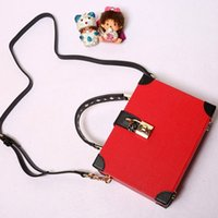 Wholesale Genuine Red Leather Handbags - 2017 New Women Genuine Leather Handbag Cross Body Shoulder Satchel Tote Hand Bag Black Red White Mini Doctor Bags