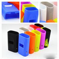 vape skins sigelei großhandel-Silikonhülle für Sigelei Kaos Spectrum Mod Tasche Bunte Gummihülle Schutzhülle Haut für Vape Box mod Kostenloser Versand