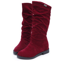 Wholesale Medium Air Wedge - boots in the fashion of ladies boots Let the cold in the winter far away from you I love you boots