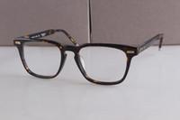 Wholesale Big Frame Reading Glasses - Retro Plank Eyeglasses TB402 Prescription Eyeglasses Frames Men Women Brand Big Frame Reading Glasses Computer Optical Frame