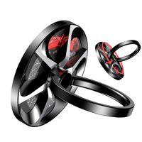 Wholesale Hand Phone Holders - Baseus Hand Spinner Finger Ring Holder Metal Fidget Finger Spinner Mobile Phone Holder Stand For iphone x