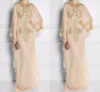 Wholesale Long Dresses Prom Dubai Sales - Wholesale Dubai Stunning Crystal Beaded Designer Evening Dresses For Sale Long Chiffon Prom Dresses 2018 Sale