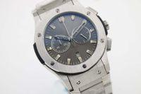 Wholesale Geneva Classic - 2016 TOP Sale 521.NX.1170.NX Bang Men's Wristwatch Classic fusion series AEROFUSION 45 MM Quartz Chronograph Date GRAY Geneva Men's watch