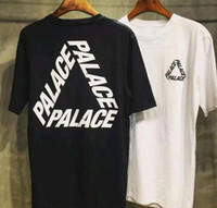 Wholesale PA LAC E T shirt tide brand male short sleeved round neck skate boa rds skateboard