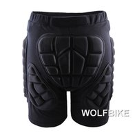 Wholesale Padded Snowboard Pants - Wholesale- WOSAWE Winter Sports Skiing Shorts Protective Hip Butt Bottom Padded Amour for Ski Snow Skate Snowboard Pants Protection