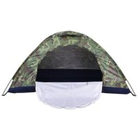 Wholesale Large Sun Shades Outdoor - Wholesale- Portable Camping Beach Tent Sun Shade Shelter Outdoor Hiking Travel Napping Large Ultralight Fishing Party Camouflage Tents