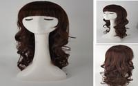 Wholesale Human Hair Bangs Sale - Free shipping.Wholesale,Long BOdy wave hair,Neat bang, the new product. Like human hair wigs, hair fashion.hot sale.