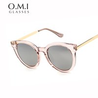 Wholesale Gentle Red - Superstar Gentle Transparent Sunglasses 2017 Men Women Oval Frame Vintage Jelly Color Plastic Ray SUNGLASSES Shades OM252