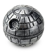 Wholesale Death Stars - 3 Layers Zinc Alloy Star Wars Death Star Grinder Herb Tobacco Crusher Grinder Cigarettes Accessories Hand Muller Hookah Drop Shipping