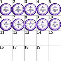 Wholesale Faith Sales - high quality 016 hope faith 20A Hot Sale 18mm 12mm 20mm Button Glass Snap Button For Women Charm Bracelet Jewelry Accessories