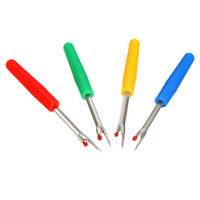 Wholesale Seam Rippers Wholesale - Steel Plastic Handle Craft Thread Cutter Seam Ripper Stitch Unpicker for China Craft Tools