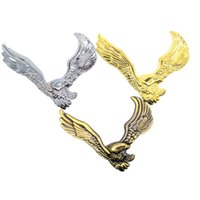 Wholesale Motorcycle Modified Decals - Eagle stickers Car Styling 3D emblem Auto Accessories Metal Badge decal Modifying Motorcycles sticker
