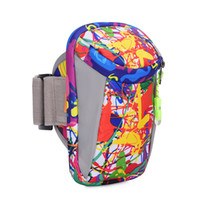 koşu için telefon çantaları toptan satış-Kol Çantası Ayarlanabilir Cep Telefonu Çantası Koşu Fitness Arms Cepler Su Geçirmez Ultra Hafif Açık Spor Yürüyüş Bilek Kılıfı 14tr F