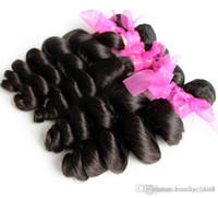 Wholesale Brazilian 5a Hair Free Shipping - 3 Bundles ms lula brazilian virgin hair Best Selling Cheap Loose Wave 5A quality Free Shipping 3,4,5pcs lot