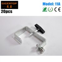 Wholesale clamp load resale online - TIPTOP A Pack Dura Clamp Light Duty C Clamp For mm Truss Pipe Load kg Stage Lighting Fixture Mounting Iron Materials