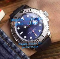 Wholesale Strap New Product - Top Products AAA Mens Automatic 2813 Blue Dial Watches Men Calendar Crystal 116622 Watch Mens Rubber Strap Basel 40mm Ceramic Bezel Watches