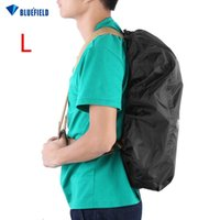 Wholesale Wholesale Trolley Luggage Bag - Wholesale- Waterproof Bag Backpack Knapsack Rain Protection Cover Shade Shield Camping Hiking Trolley Luggage Bags Trip Kits L With A Pouch