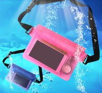 Venda Por Atacado Waterproof Dry Waist Bag Pouch Wallet Phone Camera Underwater Swim Kayak Boating Shoulder Cintura Belt Bag Case Pack