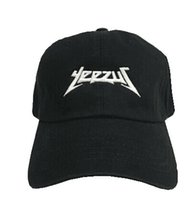 Wholesale Rodeo Gold - Yeezus Embroidered Glastonbury Unstructured dad hat yeezu boost 350 750 Unreleased Kanye Hat casquette sun rose cap 6 god pray ovo rodeo Cap