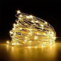 Commercio all'ingrosso-Nuova qualità 100LED USB Filo di rame Xmas Fairy String Light 8-modi PartyWedding Dropshipping # 1101