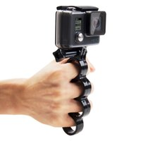 Wholesale Handheld Tripod Mount - gopro mount Handheld Plastic Knuckles Fingers Grip Ring Monopod Tripod Mount with Thumb Screw for GoPro HERO5