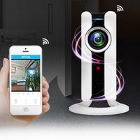 Wholesale Lens Webcam Wifi - Brand new 960p 1080p panoramic ip camera fisheye webcam 360 wifi vr camera video for Smartphone free shipping