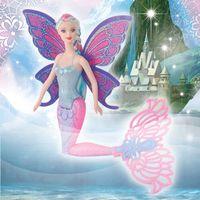 Wholesale Ariel Mermaid Plush - Fashion Kids Mermaid Dolls Girls Toys Girls Doll Toy 40CM Swimming Moxie Doll Princess Ariel Bonecas For Birthday Gifts Free Shipping