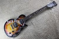 Wholesale Jack For Electric Guitar - Free shipping less jack daniels standard guitar High Quality custom shop electric guitar