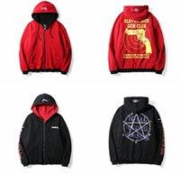 Wholesale Can Sweatshirts - Vetements Magic Array Loose Hoodie Sweatshirt Both Sides Can Wear Sweater Men Women Cotton Hip Hop hoodie Plus Sizes 2XL
