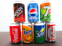 Wholesale Pepsi Phone - Mini Speaker Cans Coke Pepsi Fanta 7-Up Sprite Zip-top Can Speakers USB Portable Sound Box TF Card Speakers Support FM Radio U-Disk dhl
