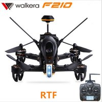 Wholesale Walkera Transmitter Battery - F16943 44 Walkera F210 BNF RTF RC Drone quadcopter with 700TVL Camera & Receive Devo 7 transmitter OSD Battery Charger