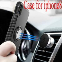 Wholesale Innovation Cars - Case for iphone8 new iphone8 Apple phone shell ring ring armor car protective sleeve bracket good quality innovation.